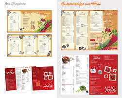 indian restaurant menu template designs blog