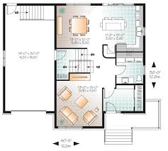 floor plans for split level homes 4 bed contemporary split level home plan 22361dr architectural