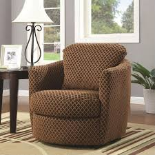 Leopard Print Swivel Chair Coaster Furniture 900405 Swivel Upholstered Chair With Diamond