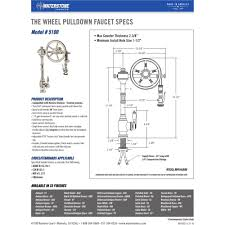 waterstone 5100 sn wheel satin nickel pro pre rinse units kitchen