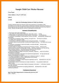 Day Care Responsibilities Resume Child Care Resume Eliolera Com