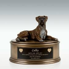 pet urns for dogs figurine cremation urn engravable