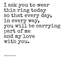 marriage ceremony quotes beautiful as part of a ring exchange angelaport vows