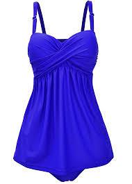royal blue open back spaghetti top and royal blue rotita