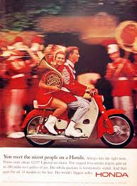 Honda Rugged Scooter 1966 Honda Motor Scooter Vintage Ad You Meet The Nicest People On