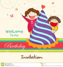 My Birthday Invitation Card Children Birthday Invitation Card Festival Tech Com