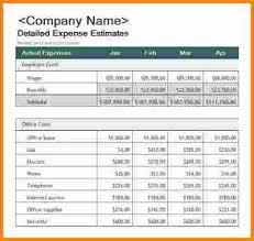 12 business budget template cashier resume