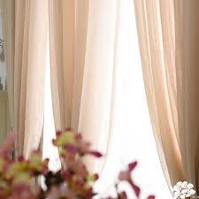 Light Linen Curtains Style Elegant Light Sheer Linen Curtains For Living Room