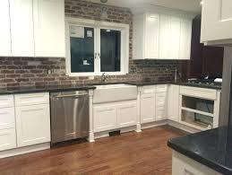 Kitchen Backsplash Brick Brick Backsplash Kitchen Brick In Kitchen Luxury Brick Wall In