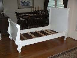 White Sleigh Bed Sleigh Bed Frame White Sleigh Bed Frame Decoration