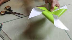 cara membuat origami kincir angin cara membuat kincir angin mainan dari kertas youtube