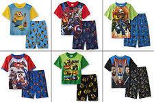 minions pajama sets sizes 4 up for boys ebay