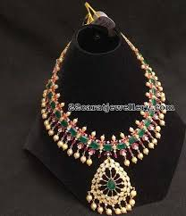 356 best ruby necklace jewellery images on indian