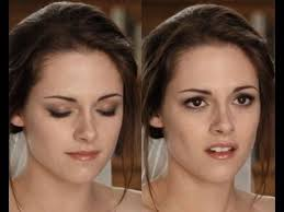 bella swan kristen stewart wedding makeup tutorial breaking dawn