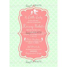 mermaid baby shower invitations mermaid baby shower or sprinkle invite dimple prints shop