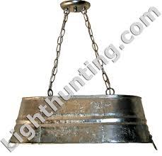Galvanized Pendant Light Galvanized Tub Hanging Light Fixtures Galvanized Tin Metals