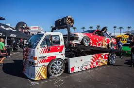 suzuki box truck the only ae86 at sema u0026 the truck that towed it tensema17 photo
