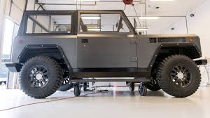 electric truck the bollinger b1 is an all electric truck with 360 horsepower and