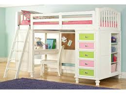 Bunk Bed With Study Table Study Table With Storage Bedroom Colorful Loft Bed
