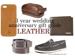 3rd wedding anniversary gift ideas 3 year wedding anniversary gift ideas for wedding gallery