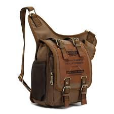 mens travel bag images Men 39 s retro canvas travel shoulder bags messenger bag jpg