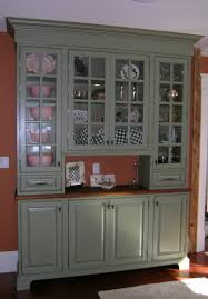 kitchen astonishing green kitchen cabinets with glass door crafts