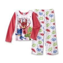 disney pj masks u0027s fleece pajama shirt u0026 pants
