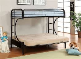 Black Metal Futon Bunk Bed Fontana White Metal Futon Bunk Bed