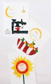 Diy Desk Calendar by Holiday Gifting Diy Kids Desk Art Calendar