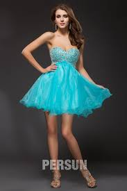 robe turquoise pour mariage robe courte turquoise pour mariage patineuse bustier coeur à