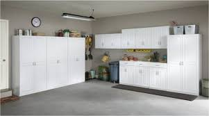 hypnotic european style garage cabinets with off white paint