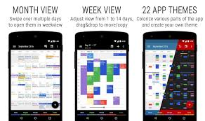 15 best calendar apps for android 2017