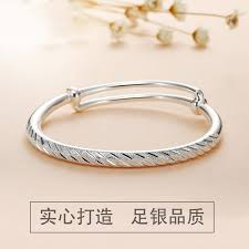 star silver bracelet images Xihu 999 pure silver bracelet female models fashion simple starry jpg