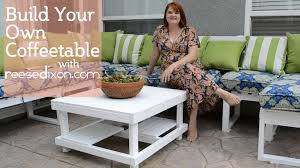 build a diy outdoor coffeetable youtube
