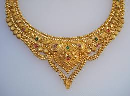traditional design 20k gold necklace choker handmade jewelry