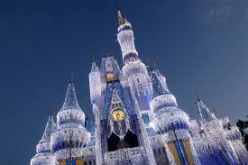 christmas at walt disney world making a magical castle even more