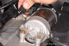 motorcycle starter system troubleshooting cyclepedia