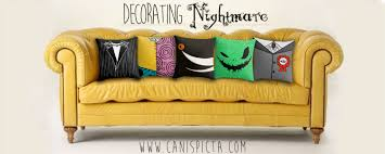 Nightmare Before Christmas Kitchen Decor Nightmare Before Christmas Jack Skellington Pillow Cover