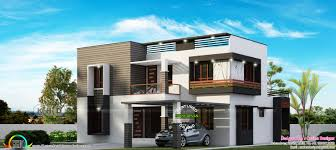 4 bedroom modern flat roof house 2600 sq ft kerala home design