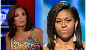 judge jeanine pirro hair cut jeanine pirro makes risky decision exposes michelle obama live on air