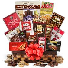 gift baskets christmas christmas chocolate gift basket by gourmetgiftbaskets