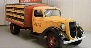 ford delivery truck 1936 ford model 51 coca cola delivery truck