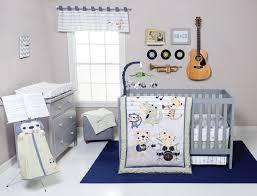 Safari Nursery Bedding Sets by Trend Lab Safari Rock Band 6 Piece Crib Bedding Set