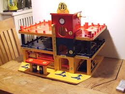 Wooden Toy Garage Plans Free by Toy Garage Wooden Diy Designed And Build Includes Battery