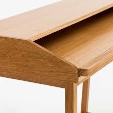 Schreibtisch Mit Aufsatz Buche Pc Schreibtisch Iletiona Mit Eiche Furniert Mit Aufsatz