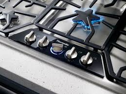 36 Downdraft Gas Cooktop Sgs365fs Thermador Masterpiece 36