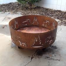 chimera fire pit custom metal fire pits outdoor goods