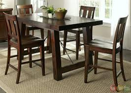 counter height dining table set cm3437pt 5 pc foster ii