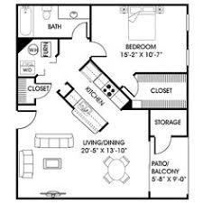 guest cottage floor plans 24 x 24 in quarters plan with laundry room guest