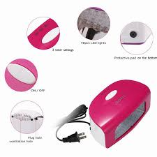 9w anself nail art dryer led nail uv lamp automatic open for gel